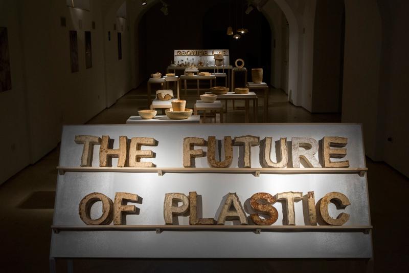 The Future of Plastic ©Officina Corpuscolu | Maurizio Montalti - exhibition overview 1